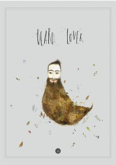 Plakat - Beard lover