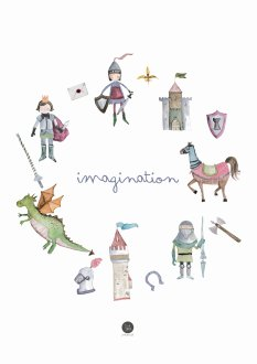 Plakat - Boys imagination